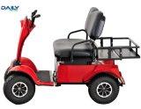 二重シートの24V 1500Wモーターを搭載する電気ゴルフカート