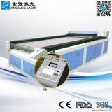 自動挿入システムCe/FDAが付いている安い価格1630年のファブリックレーザーの打抜き機