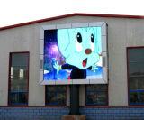 Große Wasserdichte IP65 heraus Tür P10 LED-Bildschirm für Werbung