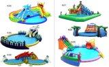 子供の大人の運動場の巨大な水公園装置膨脹可能な水公園(MIC-528)