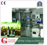 Ylg-C1001y Olive Oil Four Automatic Piston Filling y Capping Two-Sided Labeler Square Bottle Filling Production Line