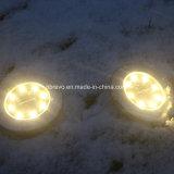 2018 Nuevo disco de 8LED Solar Jardín la Luz (RS133)
