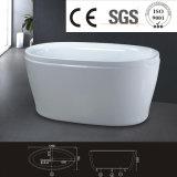 stanza da bagno acrilica ovale a buon mercato moderna della vasca da bagno del bambino della fabbrica pH0980 piccola
