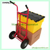 Transport-Hochleistungslaufkatze-Stoss-Karre, die Laufkatze handhabt
