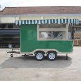 Mobile Nahrungsmittelkarre mit Rädern, Straßen-Nahrungsmittelkarren-Schlussteil Jy-B22