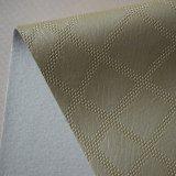 Cuoio impresso lussuoso del PVC per il documento di parete dell'hotel della decorazione della parete
