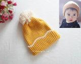 Novo modelo de tampa de lã para crianças