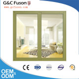 Dernière conception de la fenêtre d'aluminium Grill à double vitrage fenêtres en aluminium
