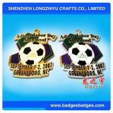 Medaglione su ordinazione dei premi dei giochi di calcio della medaglia del metallo del campione di gioco del calcio