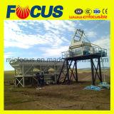 Type centrale de position de montée du matériel de construction Hzs50 de malaxage concrète