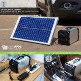 태양 발전기 휴대용 전력 공급 360wh 400W 순수한 사인 파동
