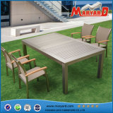 Nuovo giardino Furniture Extension Table e Chairs Set di Design