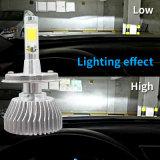 Lampadina automatica 3800lm H4 di Fanless LED del girasole dalla fabbrica con l'indicatore luminoso della barra del LED ed il faro dell'automobile LED