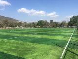 Tappeto erboso artificiale di gioco del calcio, erba sintetica di calcio, grande resilienza, buona reputazione