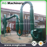 máquina de secagem da serragem pequena da circulação de ar 500kg/H quente para a venda