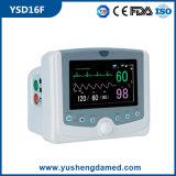 Video paziente qualificato di Multi-Parameter delle attrezzature mediche approvate del Ce alto