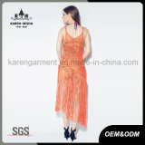 Sexy челкой Maxi Handknit купальный костюм платья