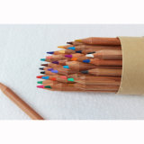 """Haute qualité de la pleine longueur 7"""", 24 crayons de couleur de la papeterie en boîte"""