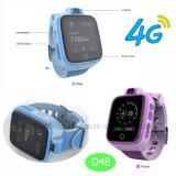 4G Chamada de Vídeo Vigilância Rastreador GPS com GPS+lb+Posicionamento WiFi D48