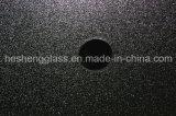 verre trempé clair carré en verre Tempered de 5mm Nashiji Glas avec le trou