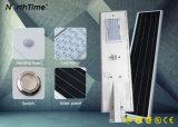 Integriertes im Freien LED Solarstraßenlaternedes Telefon APP-Steuer60w