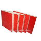 Antideslizante de color rojo tamaño 4X8 Film enfrenta el contrachapado para la construcción de marco