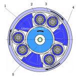 OEM-Чугунные отливки песка для маховика морской дизельного двигателя