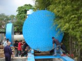 Máquina de enrollamiento del filamento para el tubo de la fibra de vidrio de FRP GRP