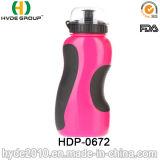 2017 Novos produtos BPA Free Plastic Sport Bottle com palha, PE Plastic Sport Water Garrafa (HDP-0672)