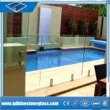 Поручни безопасности Закаленное слоистое стекло для создания
