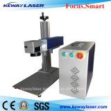 Máquina de la marca del laser de la fibra del metal y del no metal para la venta