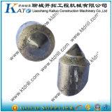 Solda nos dentes lisos da perfuração para o Br2 Br3 Br4 do cortador Dt50 Rt1 Br1 da rocha
