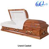 Cofanetto adulto personalizzato verniciato elegante della bara del legname del velluto