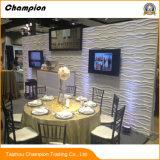 Blanca Rosa PE Paneles de pared de ladrillo de 3D 3D de papel tapiz de pared de espuma para la decoración del hogar