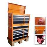 Manufacturer resistente Steel Tool Cabinet con Wheels