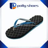 Nuove donne nere & sandali blu di caduta di vibrazione della cinghia della flora