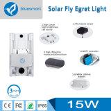 Lámpara de calle solar elegante solar de la luz del jardín del LED con el sensor de movimiento