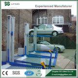 GG Marca CE 2300-3200kg cilindro hidráulico de dos postes Ascensor Aparcamiento Ascensor Aparcamiento sencillo