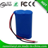 18650 het Pak van de Batterij van het lithium 2200mAh 7.4V voor LEIDEN Licht
