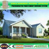 Vertiente prefabricada almacén modular prefabricado del edificio de la estructura de acero del diseño industrial