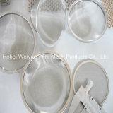 Fabrik-Großverkauf-Edelstahl-Ineinander greifen-Filter-Platte