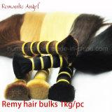 """Haar van /Remy van het Menselijke Haar van haar het Materiële 100% Bulk/Lengte: 8 """" - 30 """""""