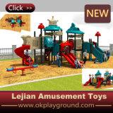 ملعب مضحكة خارجيّة بلاستيكيّة لأنّ أطفال متنزّه ([إكس1504-5])