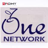 Embutimento Non-Transferable do PVC RFID para a coleção eletrônica do pedágio