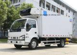 6 바퀴 Isuzu 100p에 의하여 냉장되는 화물 자동차 트럭 수레 5 톤 냉장고