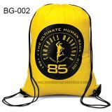 顧客のロゴのポリエステル体操のドローストリング袋