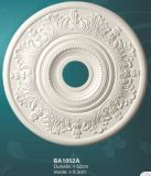 Decorative bianco Ceiling Medallions Smooth per il lampadario a bracci