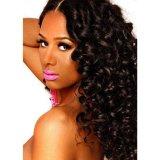 Виргинские Реми 100 толстых Hairl бразильского характера кривой кружева закрытие женщин Toupee волос