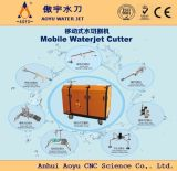 최신! Oil Tank, Pipe Cutting를 위한 자동차 또는 Portable Waterjet Cutter