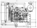 発電機セット(QC4112ZLD)のための電気点火100kwのディーゼル機関
